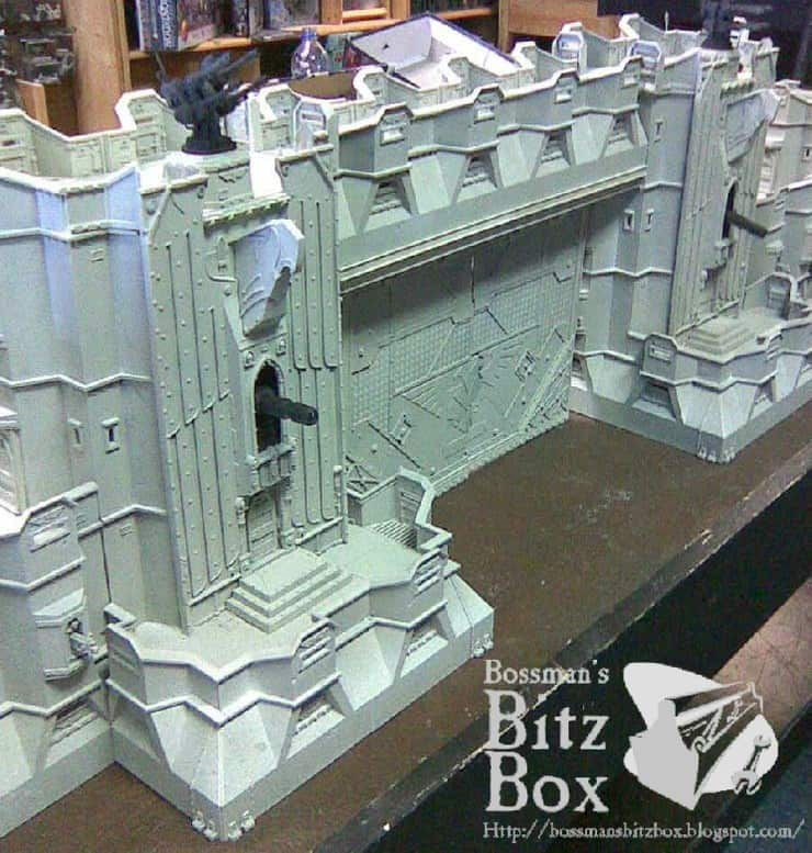 Tear Down That Wall Imperial Fortress Conversion Spikey Bits
