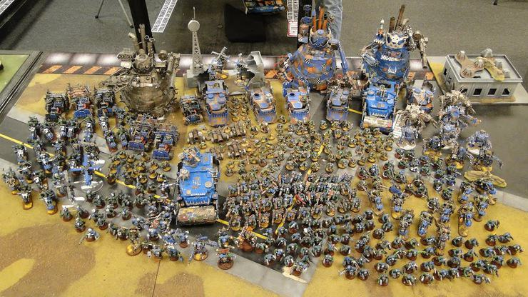 So What Does A Gaming Table Full Of Orks Do Spikey Bits