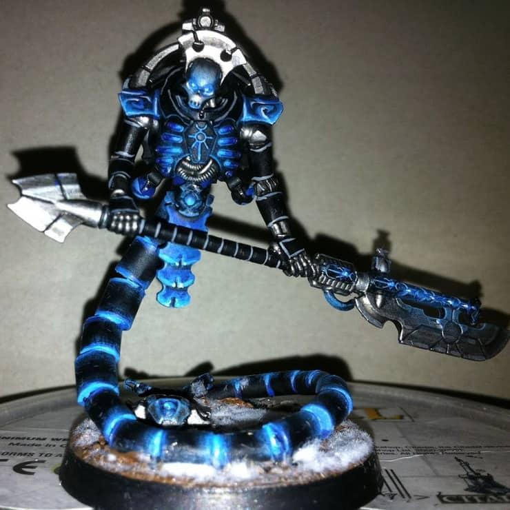 Necron Custom Paint