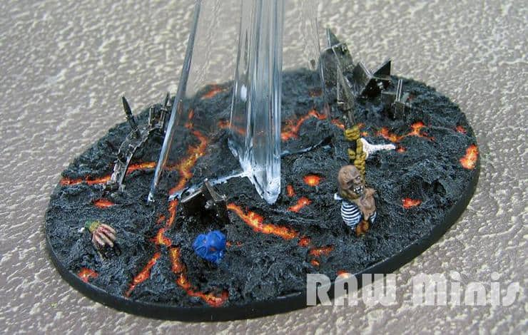 Aim High Basing 40k Flying Stands