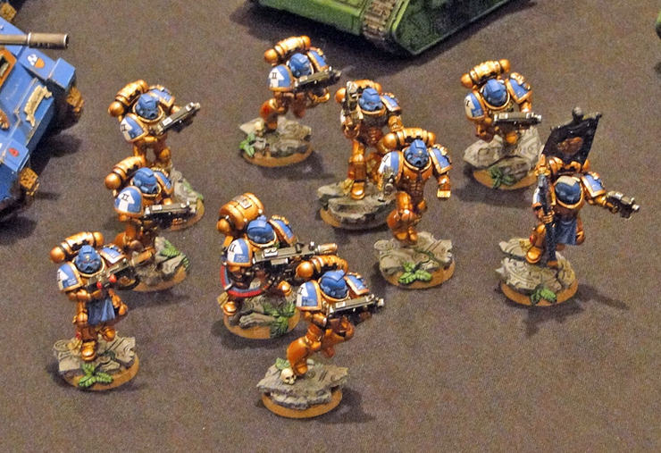 Celestial Lions? Feast of Blades 2012 - Spikey Bits
