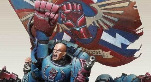 crimson fist veterans day iwo jima space marine astartes