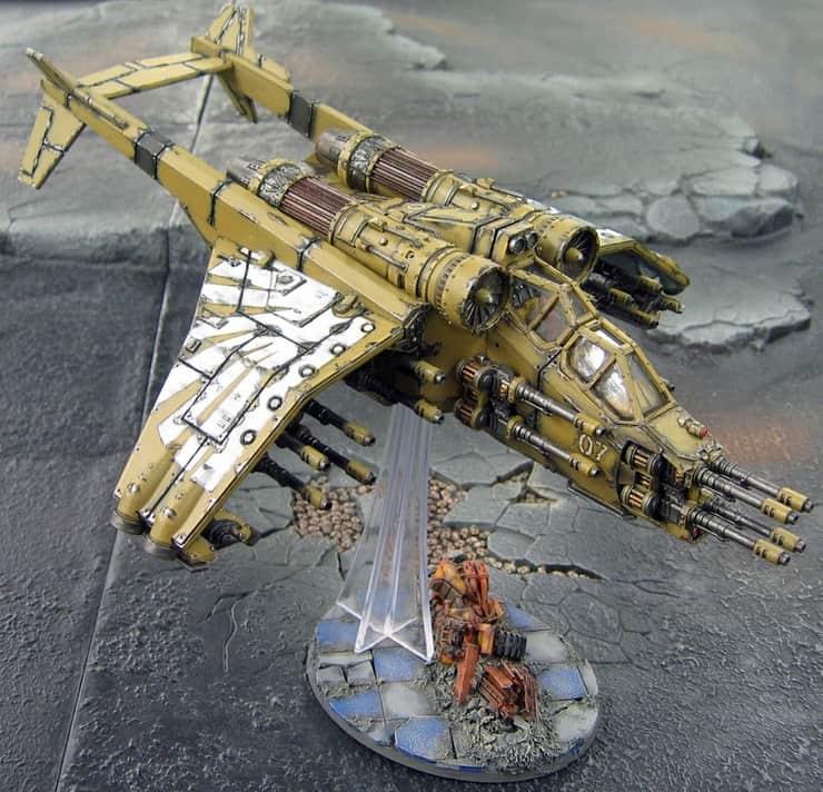 Valkyrie Gunship Conversion: More Guns Is More! - Spikey Bits