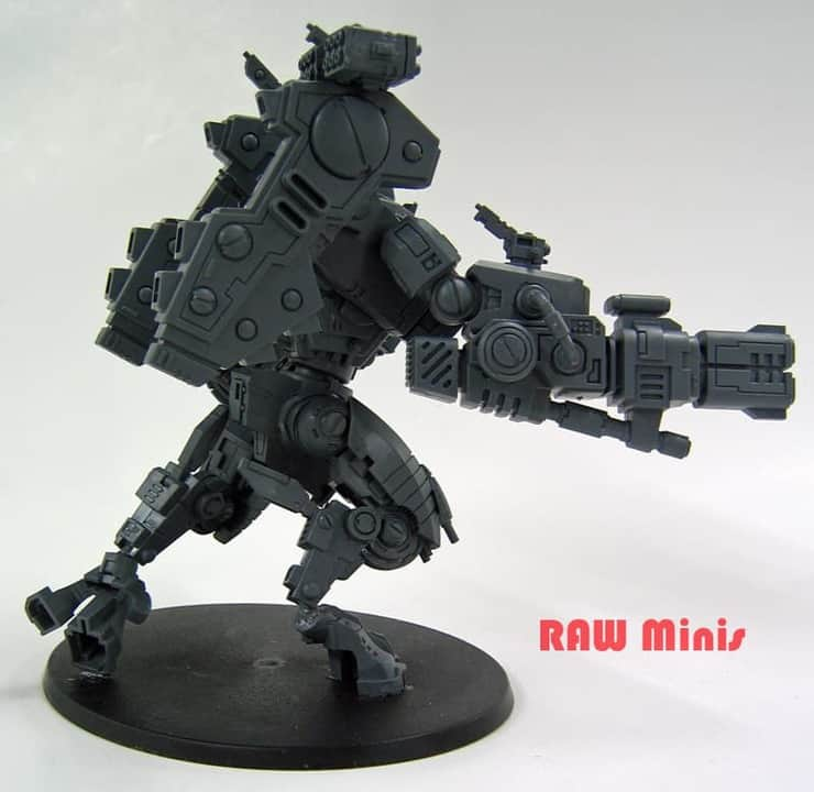 Swagger Like Us- Posing the Tau Riptide - Spikey Bits