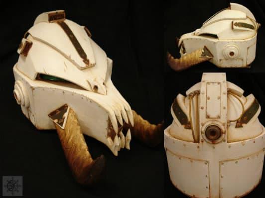 Cosplay Chaos Terminator Helmet Spikey Bits