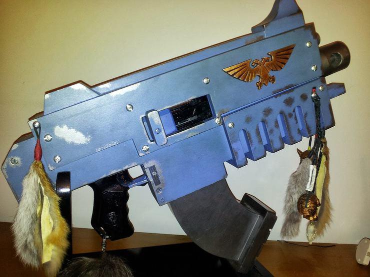 space wolf boltgun bolter cosplay