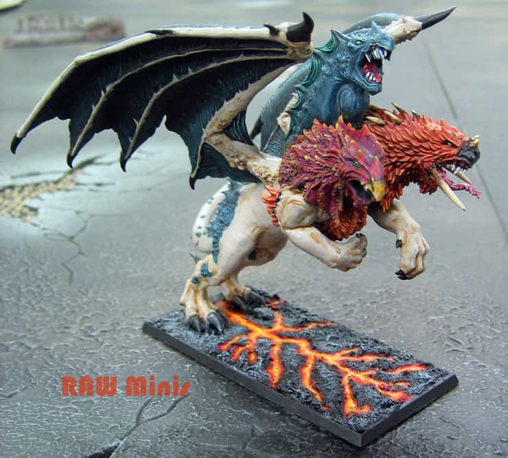 Unleash The Monsters: Painting With A Chimera - Spikey Bits