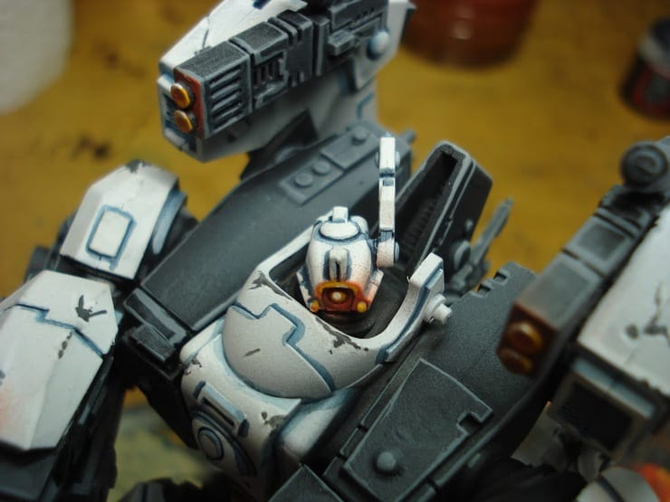 Whitewashing The Tau - Alternative White Paint Tutorial