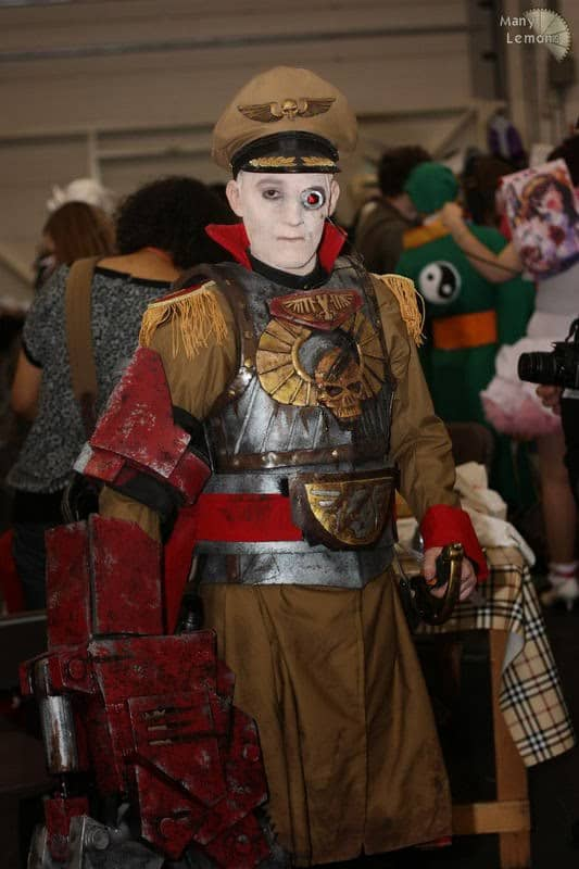 how to make imperial guard commissar cosplay