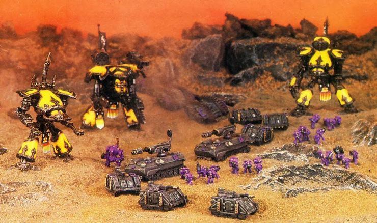 Epic 40k Titan Detachm...