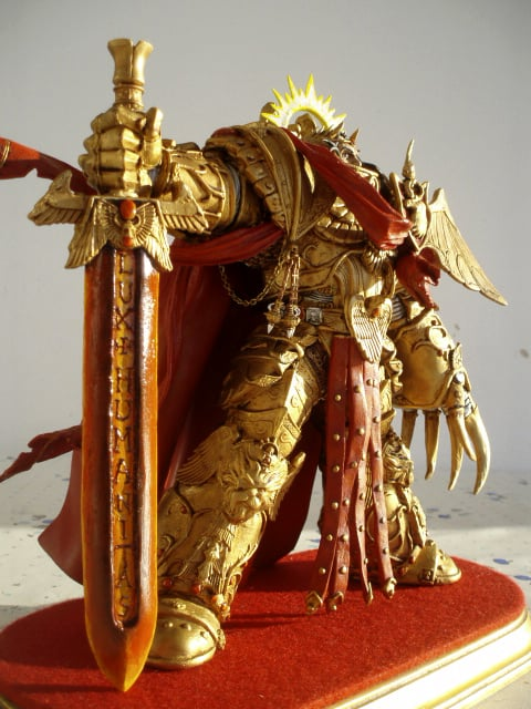 The Truth? - Emperor of Mankind Conversion Figure - Spikey Bits