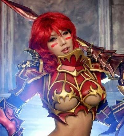 Cosplay - Chaos Warrior Princess - Spikey Bits