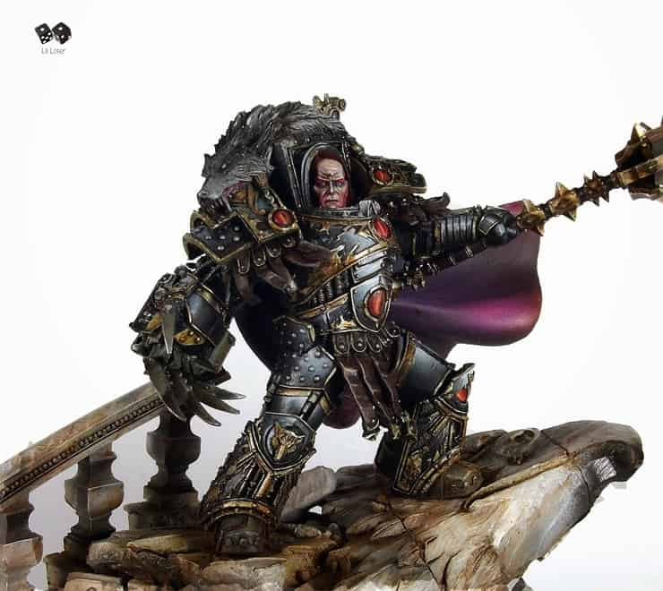 40k Showcase - Horus Lupercal Warmaster of Chaos - Spikey Bits  40k Showcase - ...