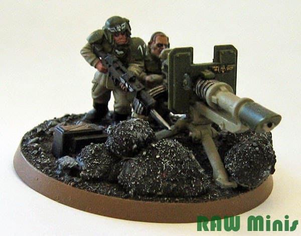 Vostroyan Scions: Astra Militarum Heavy Weapon Teams