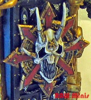 PREDATOR SPONSON UPGRADE SPRUE Space Marine Adeptus Astartes Warhammer 40K Chaos