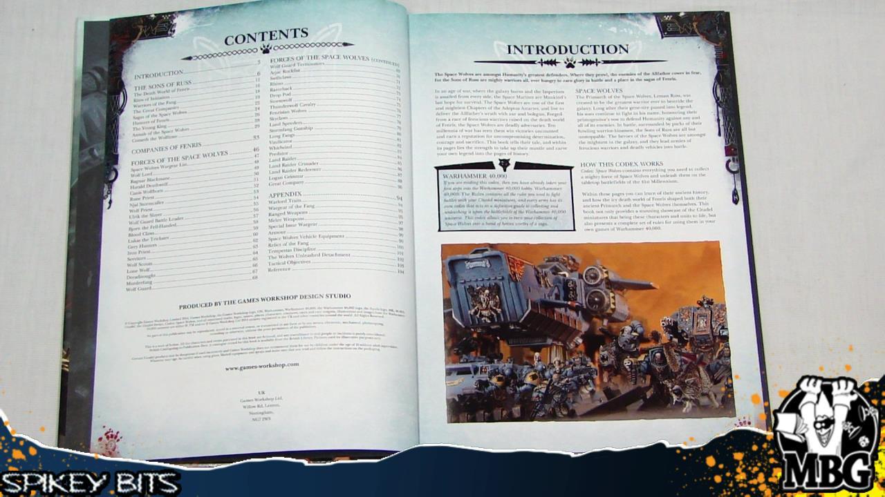 Pdf space wolf codex