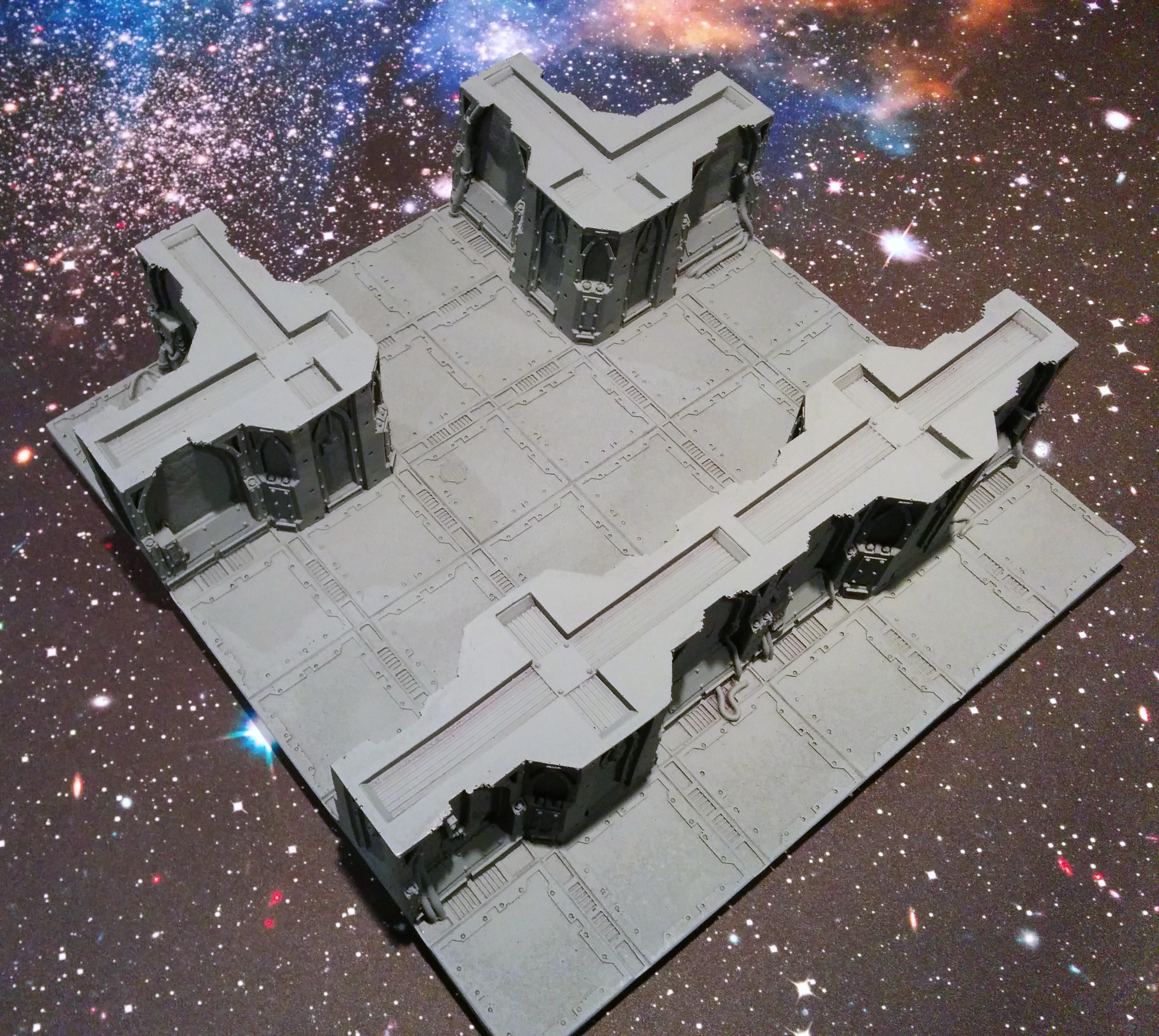 Painting miniatures color master primer - In This Particular Case The Gray Krylon Primer Has The Added Benefit Of Being My Base Color For The Open Areas On This Piece Of Terrain