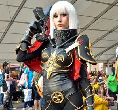 Warhammer 40k sisters of battle cosplay