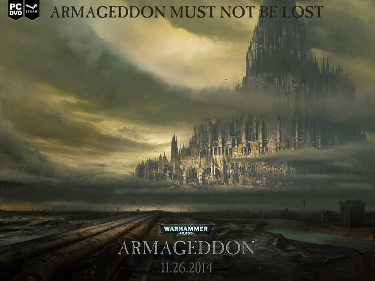 40k armageddon movie poster pic of the day spikey bits