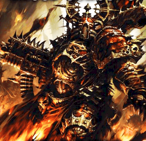 KIT BASH - Making New Khorne Berzerker Models - Spikey Bits