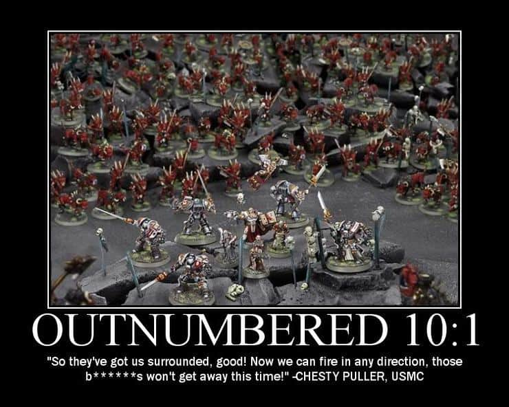 Grey Knights - Never Tell Them the Odds - Spikey Bits