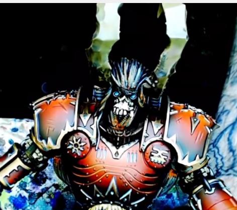 Airbrushing Tutorial   Chaos Knight Titan   Final   YouTube111
