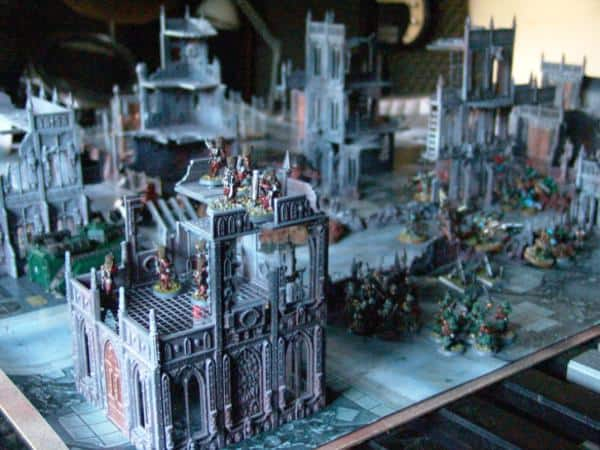 Cities Of Death, Terrain