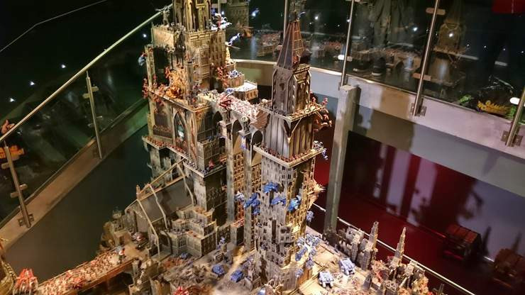 Forge World Calth Diorama - MUST SEE - Spikey Bits