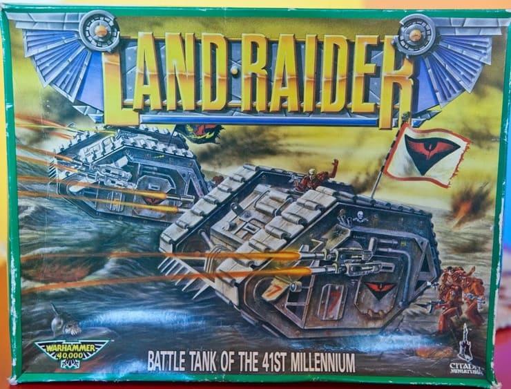 land raider flashback