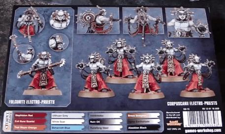 Warhammer 40,000 Adeptus Mechanicus Electro-Priests Bits