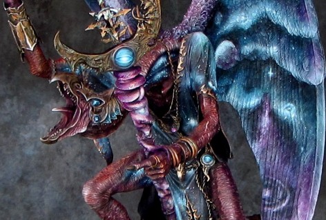 Must see nebulae lord of change army of one spikey bits for Art 1576 cc