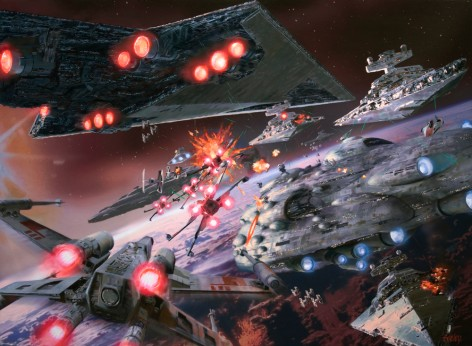 star wars battle of endor