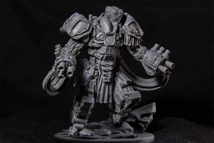 New 28mm Sci-Fi Miniature You Have To See - Spikey Bits