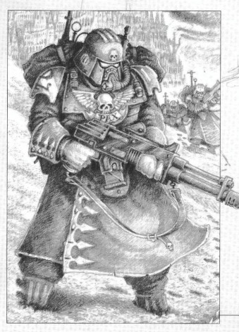 2nd edition imperial guard greatcoat concept jes goodwin