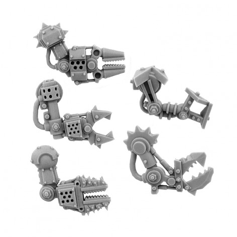 ORK-BIONIC-ARM-Fist-R Wargame Exclusive