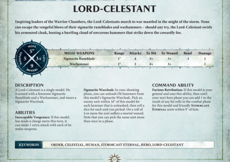 lord celestand age of sigmar rules