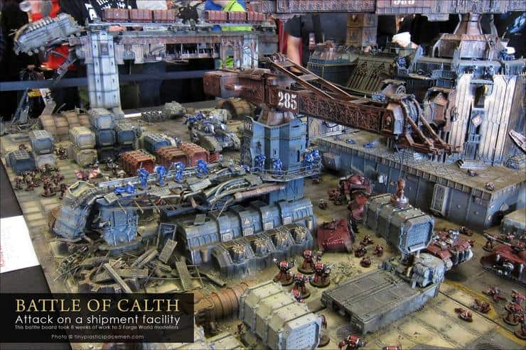 Vivid New Pics Of The Battle For Calth 40k Studio Table Spikey Bits