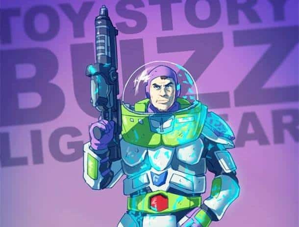 space marine buzz lightyear