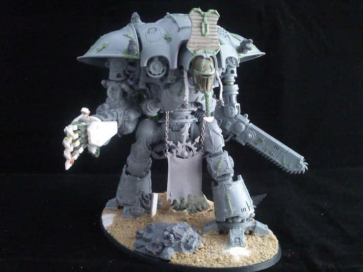 Custom Knight Of Tzeentch