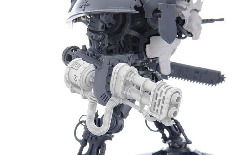 A New Knight Titan Arrives From 3D Printing - Spikey Bits