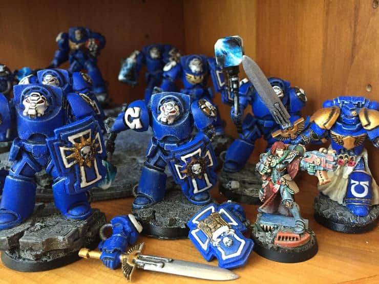 true scale space marines