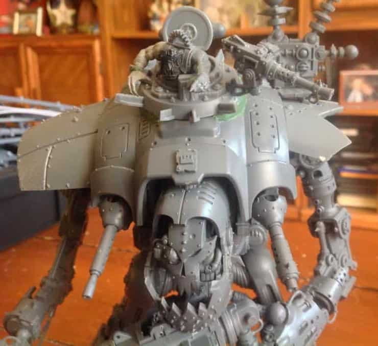 ork looted knight titan