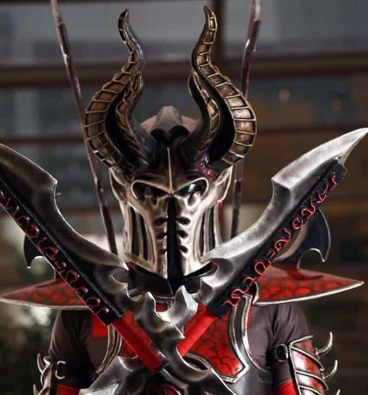 40k eldar cosplay Warhammer