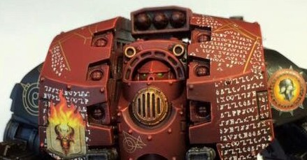 word bearers leviathan dreadnought