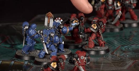 Ultramarines Army Playing Betrayal at Ca...