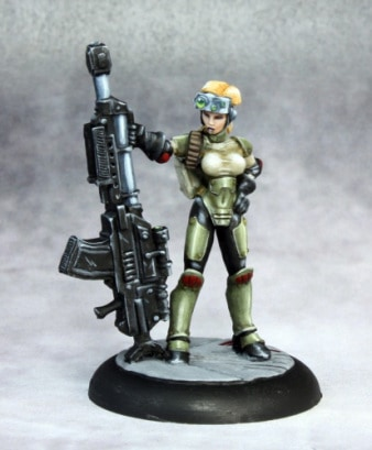 Top 10 Female Miniatures In 28mm Scale Spikey Bits