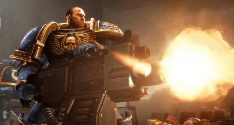 Space Marine w/ Heavy Bolter