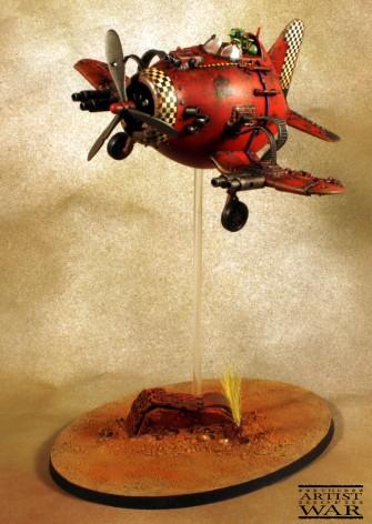 Ork Dakkajet Egg Plane