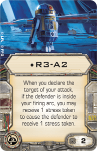 R3-a2 x-wing miniatures