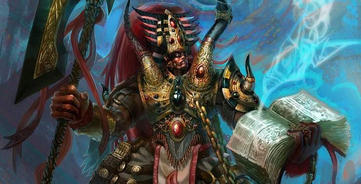 544a3c9d6e1 Lore - Magnus The Red, Primarch of the Thousand Sons - Spikey Bits